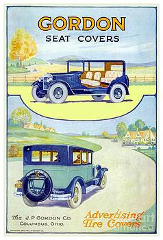 1915 - Gordon Automotive Seat Cover Advertisement by John Madison