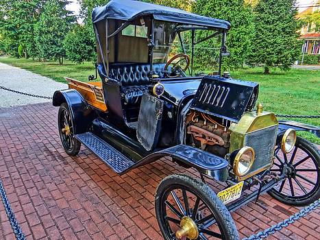 1915 Model T Ford Runabout by Gary Ambessi