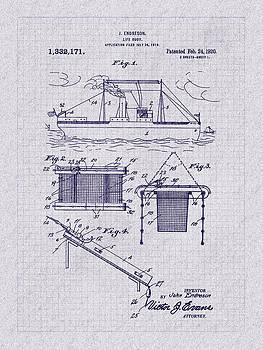 Barry Jones - 1920 Life Buoy Patent Art