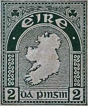 Bill Owen - 1922 Ireland Eire Stamp