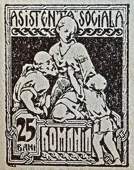 Bill Owen - 1924 Romania Nursing Stamp