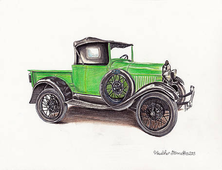 1926 Ford Truck by Heather Stinnett