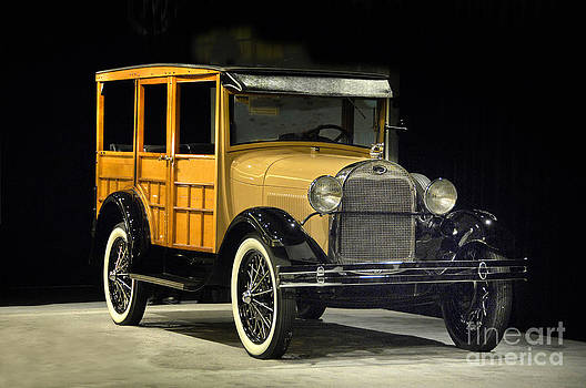 1929 Ford 150A Wagon by Howard Koby