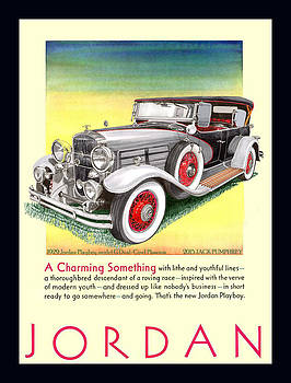 Jack Pumphrey - 1929 Jordan Model G Vintage ad