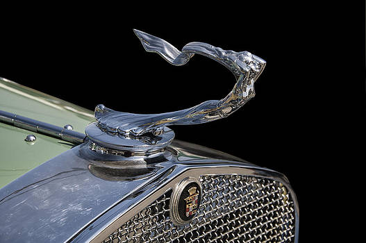 Chris Flees - 1930s Cadillac goddess hood ornament