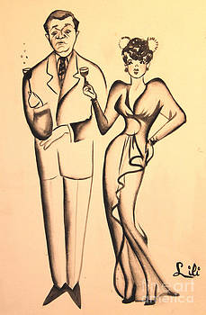 Art By Tolpo Collection - 1930s Couple on the Town