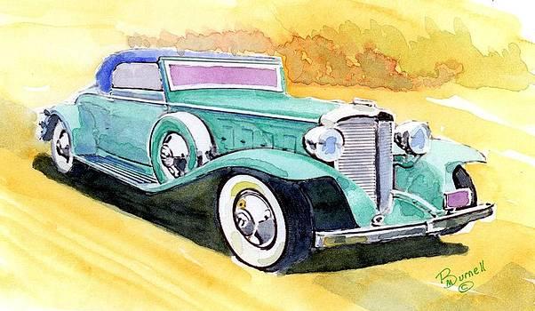 1931 Marmon Aluminium V-16 Convertible Coupe by Marsden Burnell