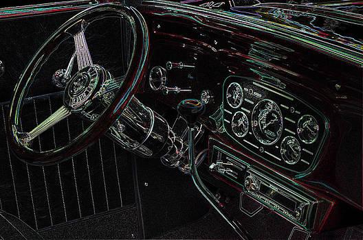 Thom Zehrfeld - 1932 Chevy Coupe Interior