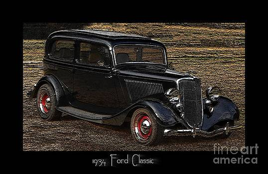 1934 Ford Classic by Eva Thomas