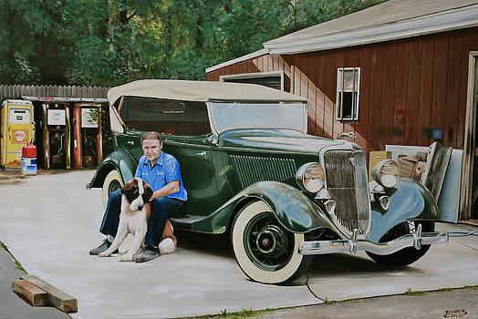 1934 Ford Phaeton by Branden Hochstetler