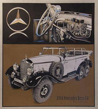 1934 Mercedes Benz by Mario Basinger