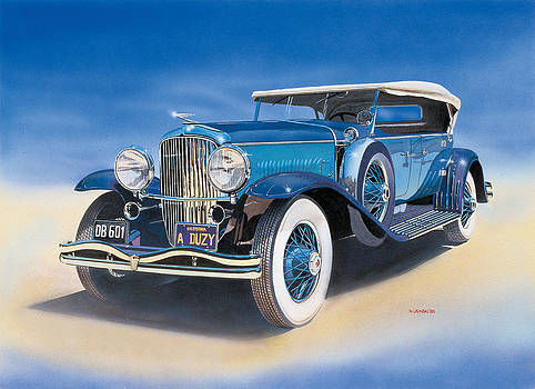 1935 Duesenberg Dual-Cowl Phaeton by Norb Lisinski