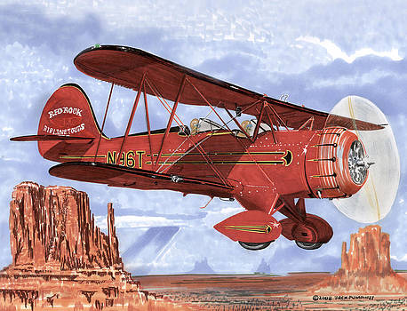 Jack Pumphrey - Monument Valley Bi-Plane
