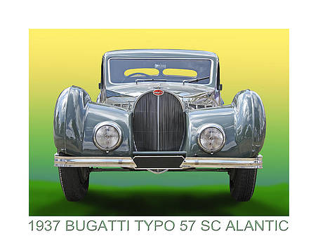 Jack Pumphrey - 1937 Bugatti 57 S C Atalante