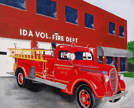 1938 Firetruck by Brandy Gerber