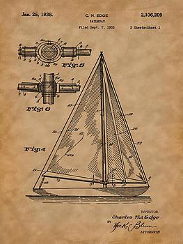 Barry Jones - 1938 Sailboat Patent Art-2