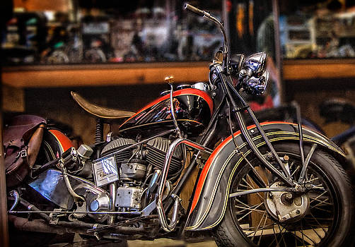 1939 Indian Chief by Steve Benefiel