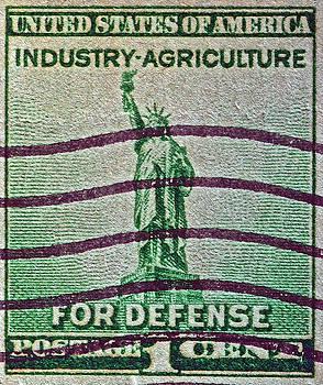 Bill Owen - 1940 For Defense Stamp