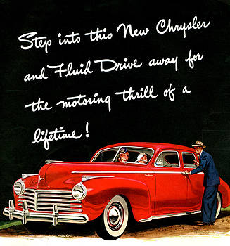 1940s Usa Chrysler Magazine Advert by The Advertising Archives