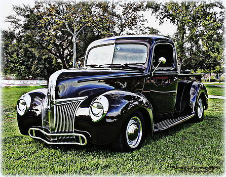 Randall Thomas Stone - 1941 Custom Ford Truck