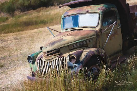 1942 Chevy Dump Trk  2808 by Fritz Ozuna