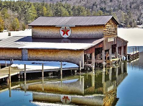 1943 - Little Squam Lake Marina by Naturally NH