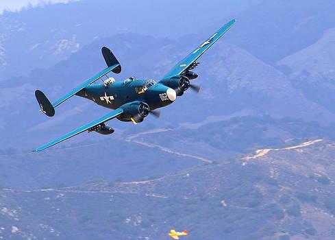 John King - 1944 Lockheed PV-2 Harpoon pays a visit at the Salinas Air Show