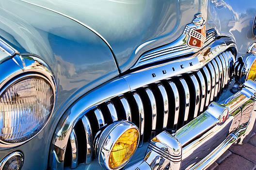 1947 Buick Eight Super Grille Emblem by Jill Reger