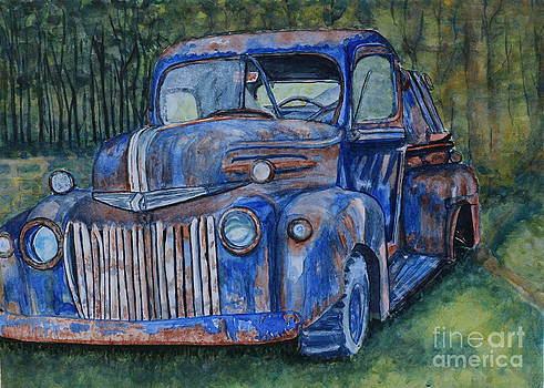 1947 Ford Pickup by DJ Laughlin