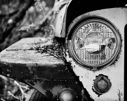 Lisa Russo - 1948 Jeep Willys in Black and White