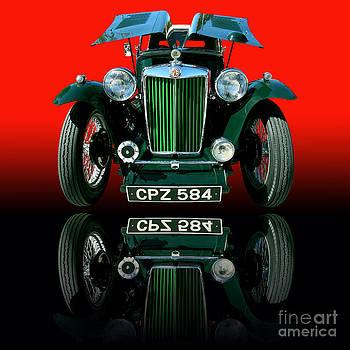 1948 MG TC Roadster by Jim Carrell