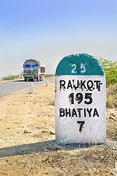 Kantilal Patel - 195 kilimeters to Rajkot Milestone