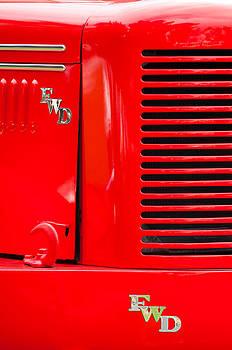 Jill Reger - 1950 Four Wheel Drive Pumper Fire Truck Emblems