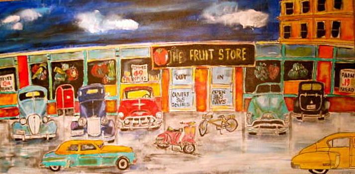 1950 Strip Mall by Michael Litvack