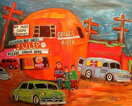 1950's Orange Julep Montreal Memories by Michael Litvack