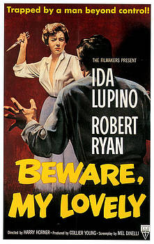 1950s Usa Beware My Lovely Film Poster by The Advertising Archives