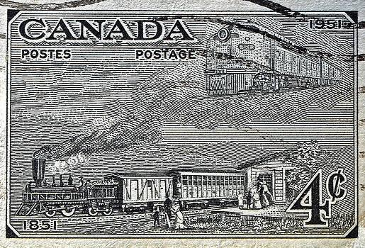 Bill Owen - 1951 Canada Train Stamp