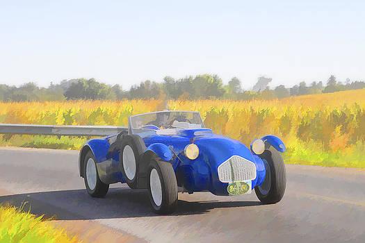 Jack R Perry - 1953 Allard J2X roadster