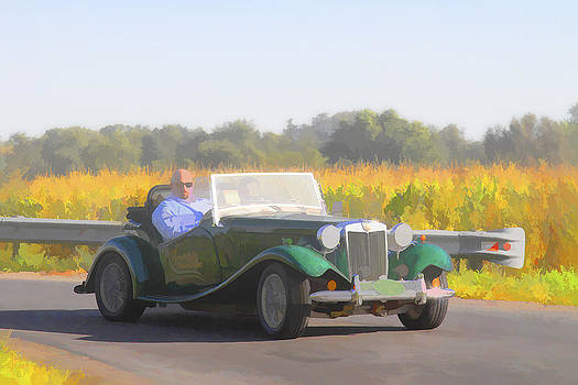 Jack R Perry - 1953 MG TD