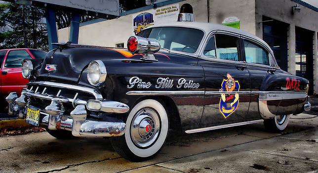 1954 Chevy DARE Police Car  Pine Hill  NJ by Thomas  MacPherson Jr