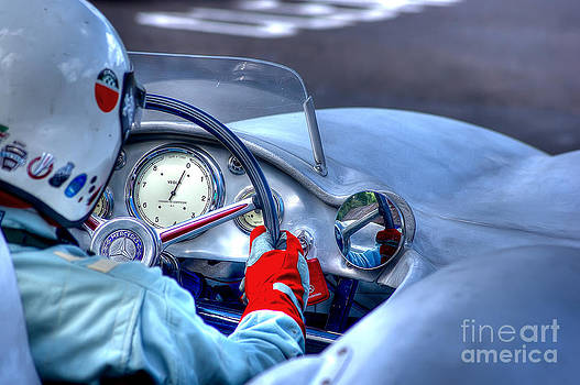 1954 Mercedes-Benz W196  by J A Evans