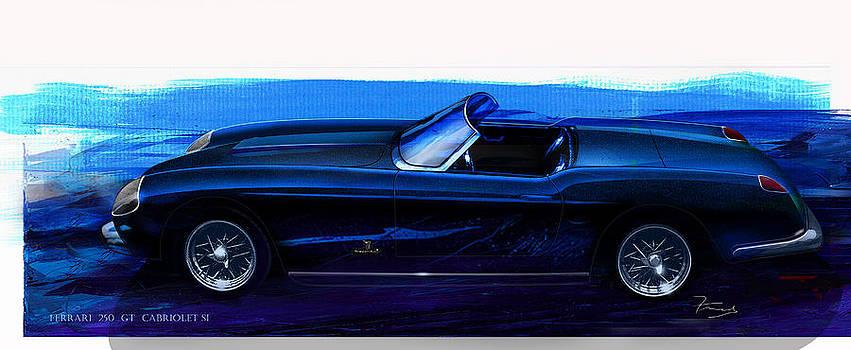 1955-1959 Ferrari 250 GT Cabriolet SI by Fred Otene
