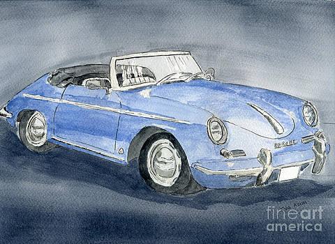 1956 Porche 356B Roadster by Eva Ason