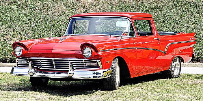 1957 Ford Ranchero by AJ  Schibig