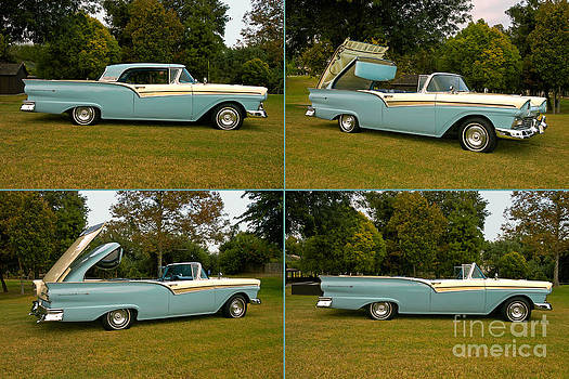 1957 Ford Skyliner Fairlane 500 Retractable by Howard Koby