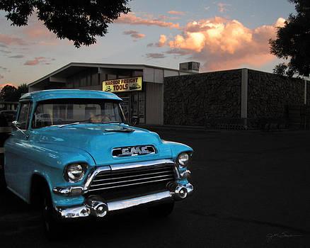 Julie Magers Soulen - 1957 GMC Pickup Truck