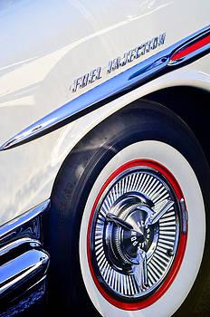 1957 Pontiac Bonneville Wheel by Jill Reger