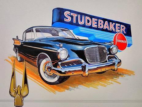 1957 Studebaker Golden Hawk by Richard Mordecki