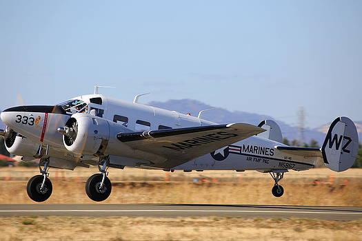 John King - 1957 Twin Beech E185 Take Off N5867