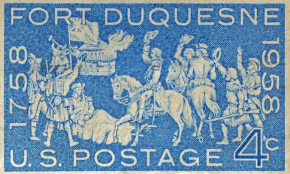 Bill Owen - 1958 Battle of Fort Duquesne Stamp
